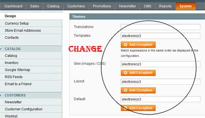 System Configure Design How To Install Magento Themes
