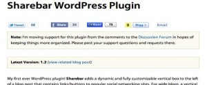 Sharebar-WordPress-Plugin